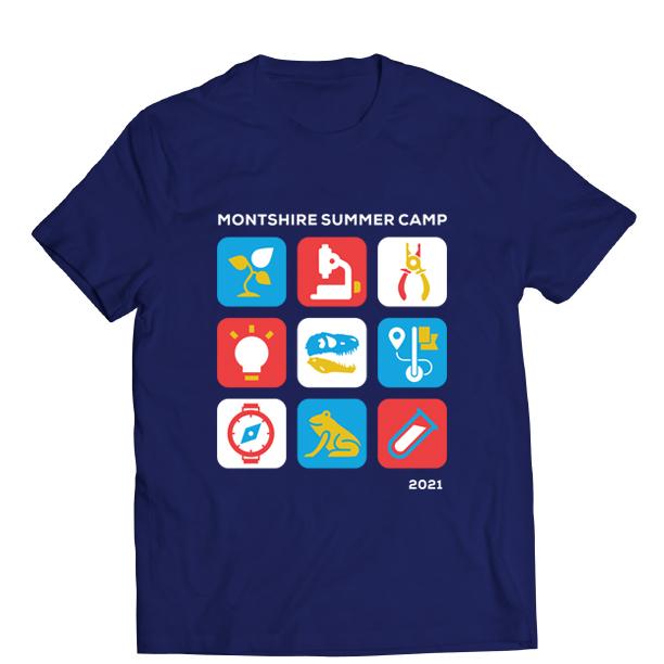 2021 Montshire Summer Camp T-shirt