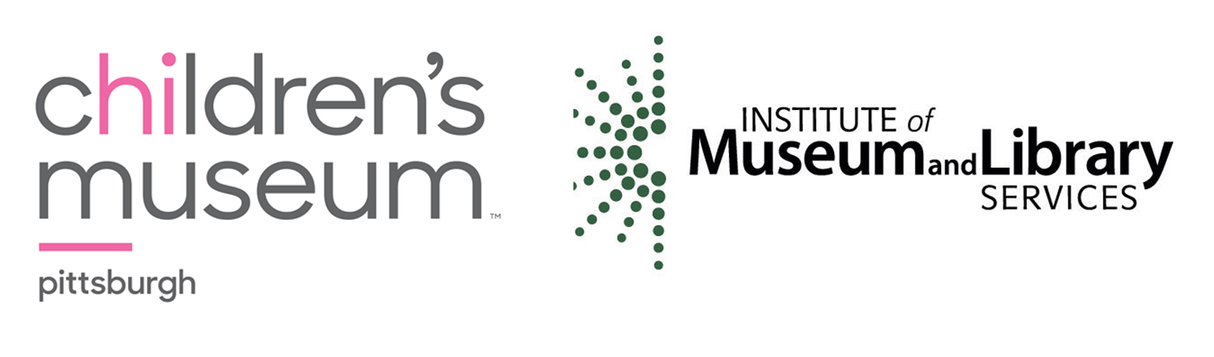 Children's Museum of Pittsburgh and Institute of Museum and Library Services logos