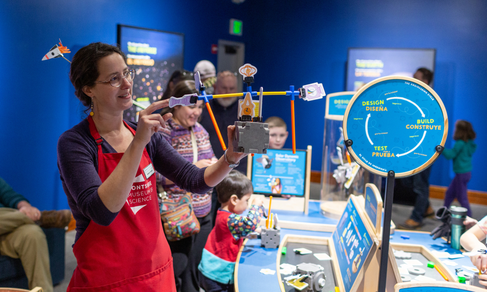 Enjoy a day packed with hands-on science activities for all ages!