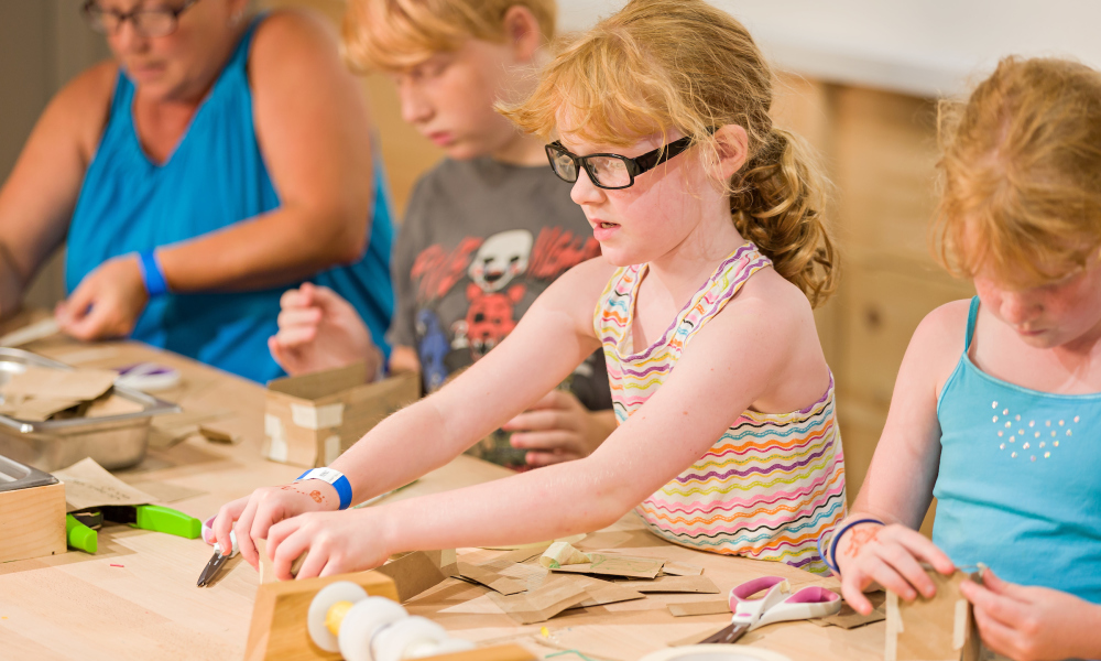 Activities at the Tinkering Loft