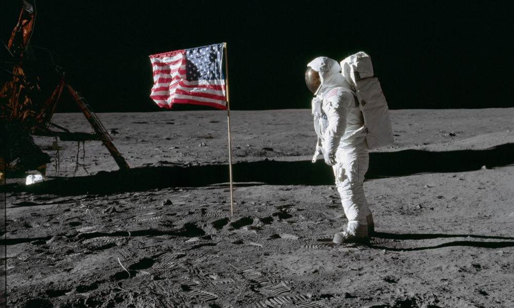Celebrate the 50th anniversary of the moon landing.