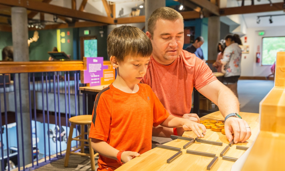 Everyday objects can be used to create challenging puzzles. Put your skills to the test with our Stick Puzzles.