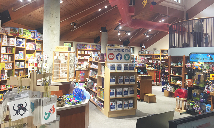Shop the Museum Store for a unique collection of science kits, books, puzzles, stationery, nature guides, and more!