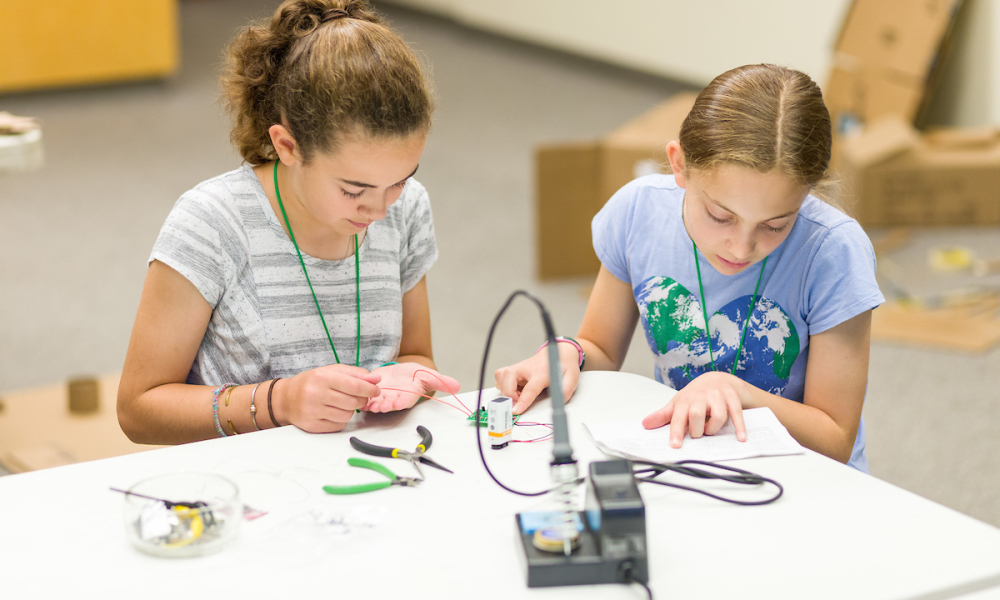 Learn about engineering principles at the Inventors' Workshop
