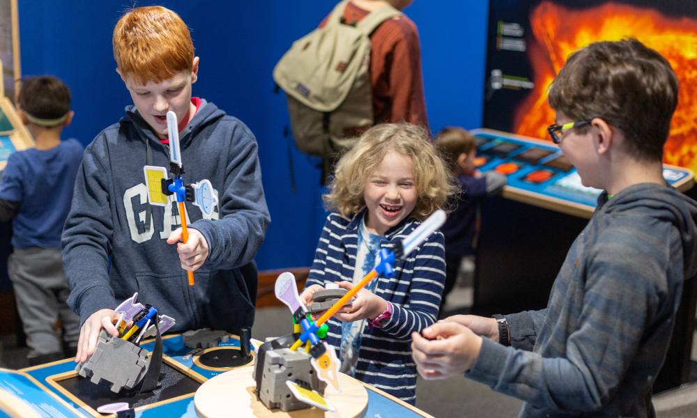 Build your own spacecraft and launch it on a journey of discovery.